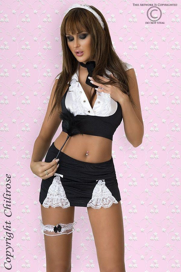 French maid six Piece costume
