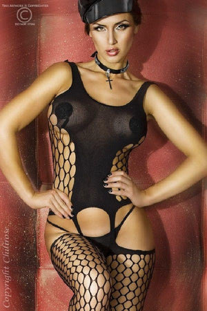 Suspender Bodystocking 3282 black