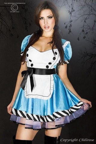 Alice in Wonderland Costume for <span class=money>€29.95 EUR</span> at Flirtywomen