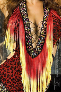 Indian costume Red or Brown - Flirtywomen