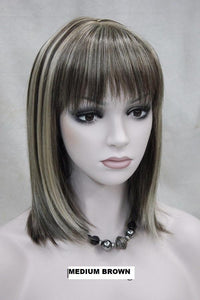 Medium Brown Wig 345