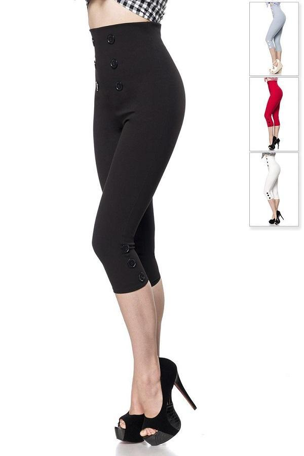 Capri-Leggings Black