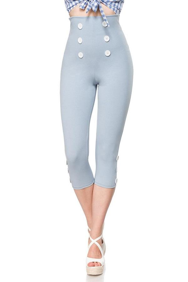 Capri-Leggings Blue