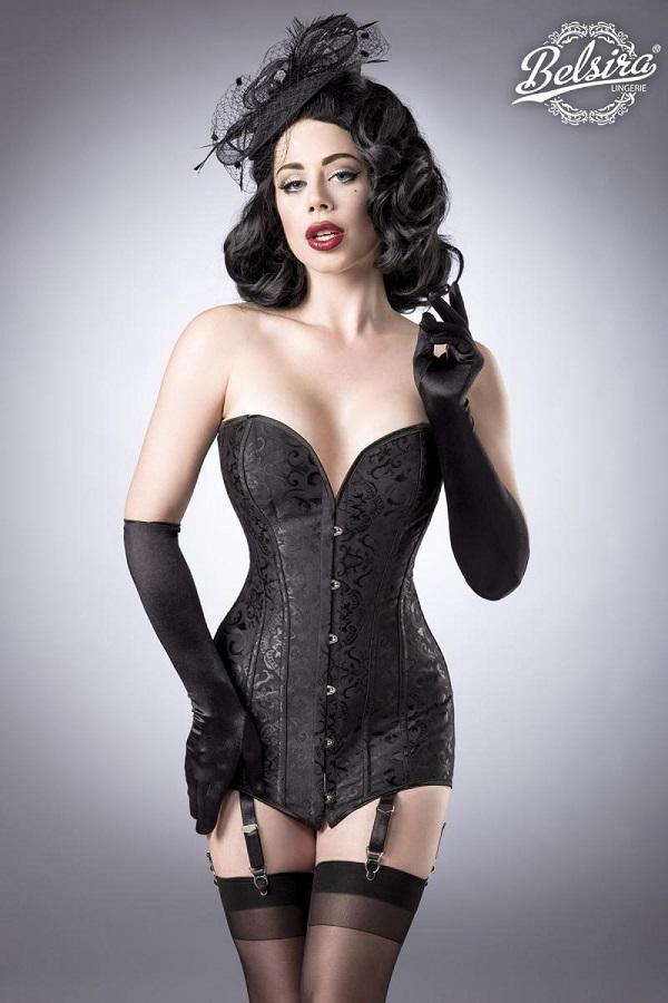 Black Heart Shaped Corset