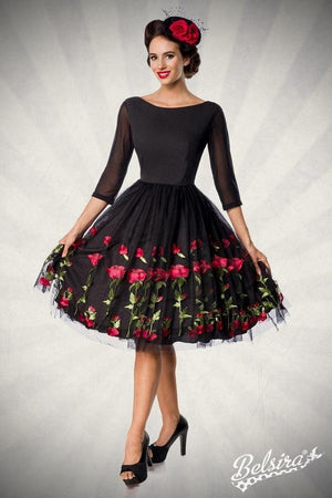 Rose Swing Dress