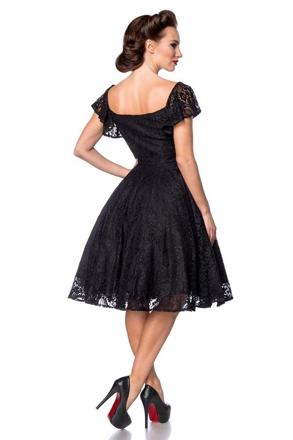 Black Lace Dress 50200
