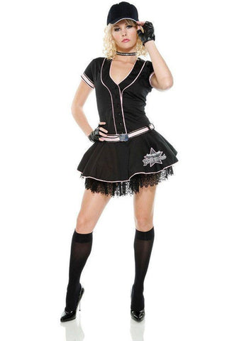 Plus size Baseball ladies costume