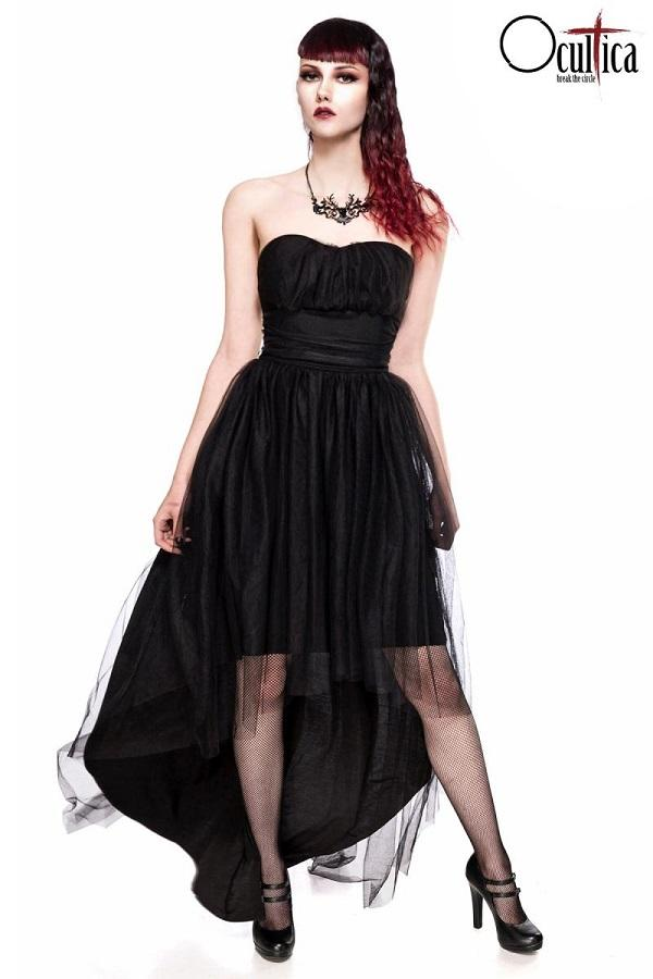 Gothic Tulle Dress 90013