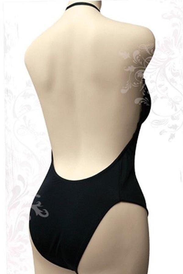 Brief black backless body Shaper