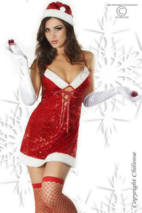 Santa Ladies four piece dress set
