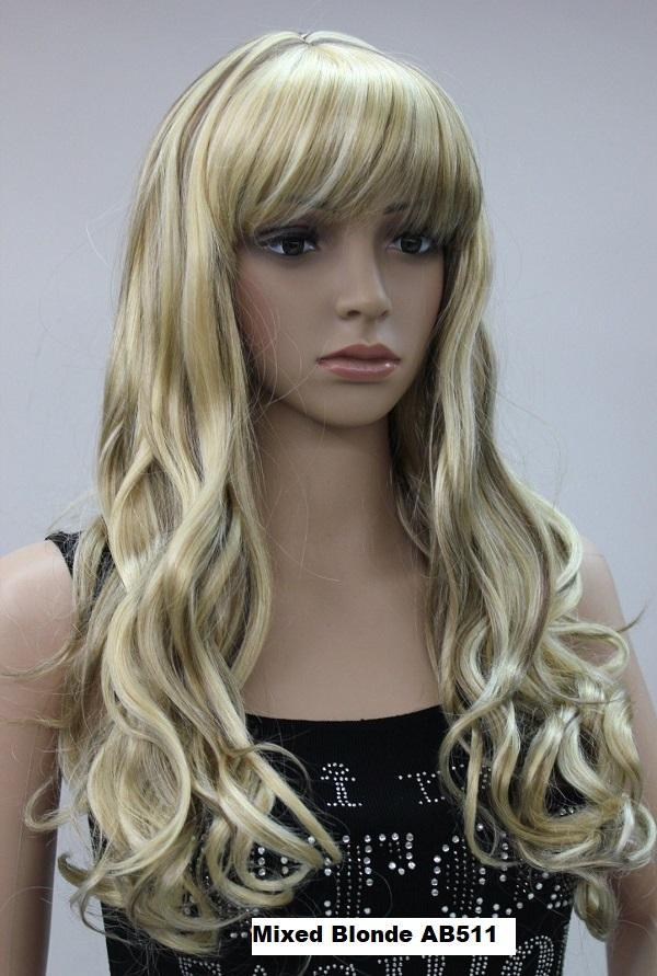Blonde and Brown Mix Wig