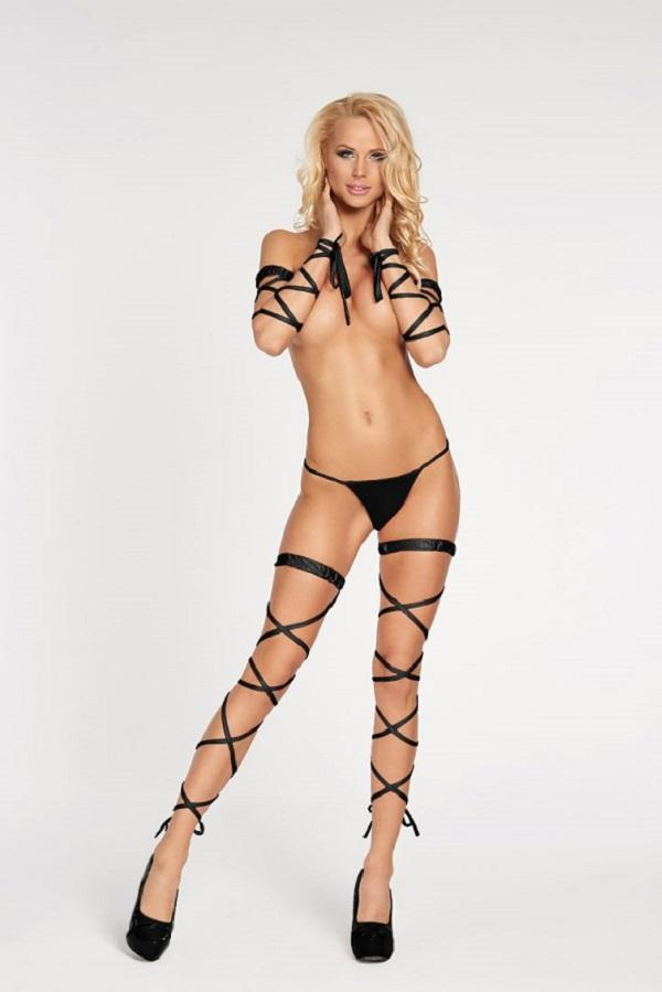 Black Garter Stocking Artigas