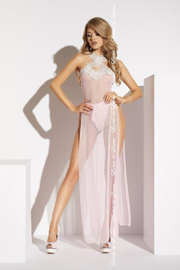 Pink Long Gown Albenga
