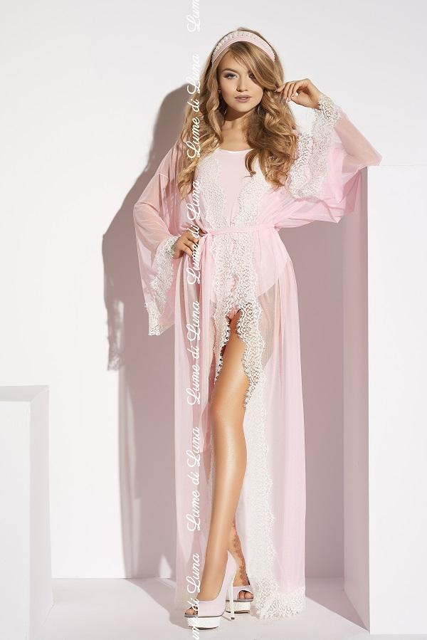 Pink Long Robe Ardea