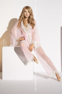 Ecru Robe and Pants Ardea