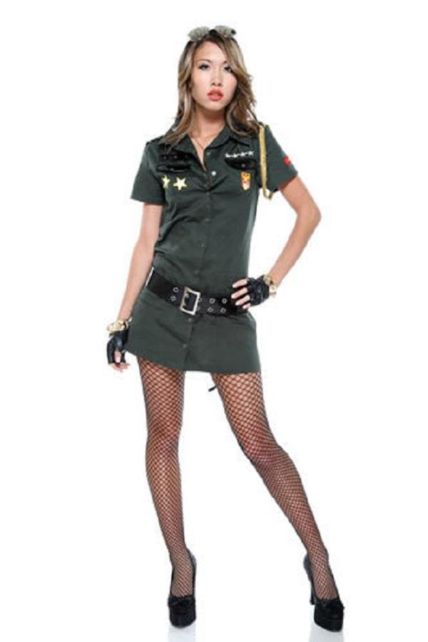 Army Seductress Costume