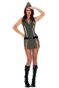 Army fancy dress costume set
