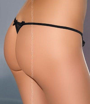 Open crotch G-string