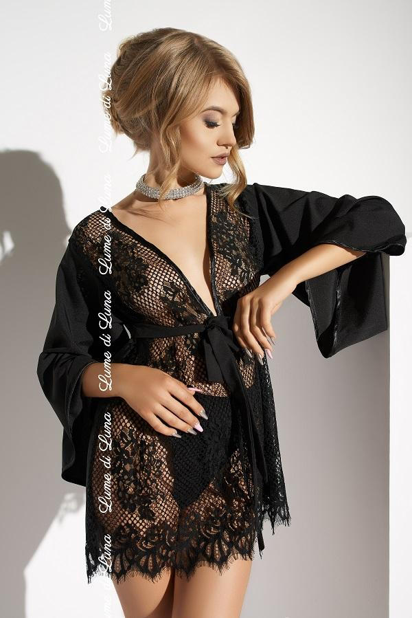 Black Short Robe Barletta