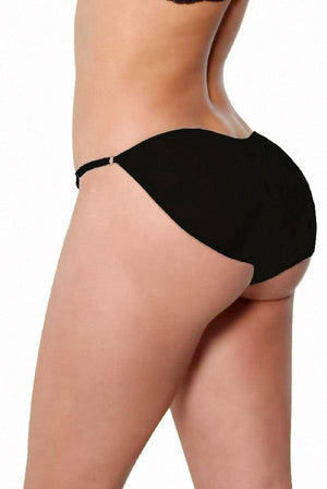 Black Sexy Brief Booster Panty