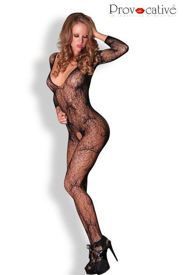 Long sleeve bodystocking for <span class=money>€19.95 EUR</span> at Flirtywomen