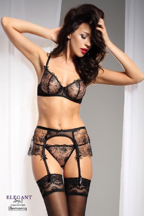 Three Piece Lingerie Set Clarisse