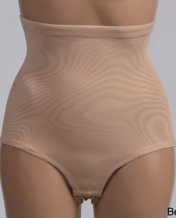 High waist panty Shaper beige