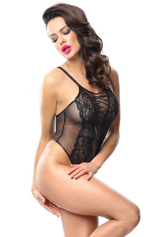 Crotchless Teddy Lingerie Magot