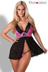 Open front babydoll nightdress for <span class=money>€24.95 EUR</span> at Flirtywomen