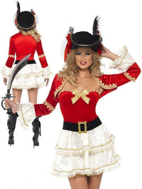 Pirate fancy dress costume