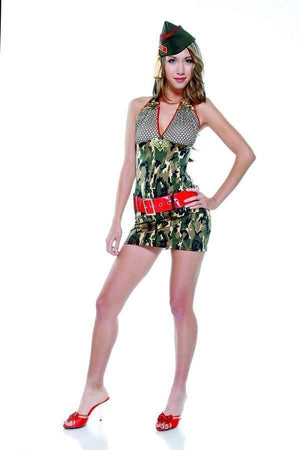 Military inspired costume set