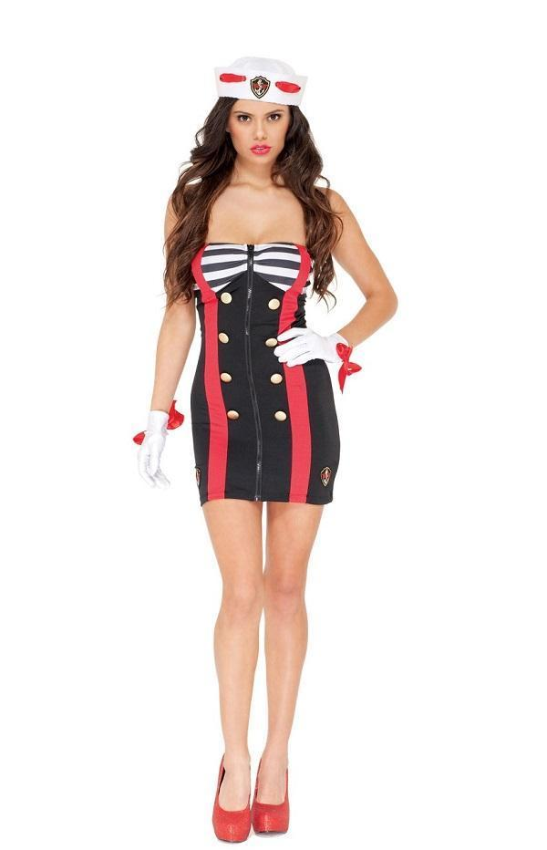 Sailor Chic inspired fancy dress