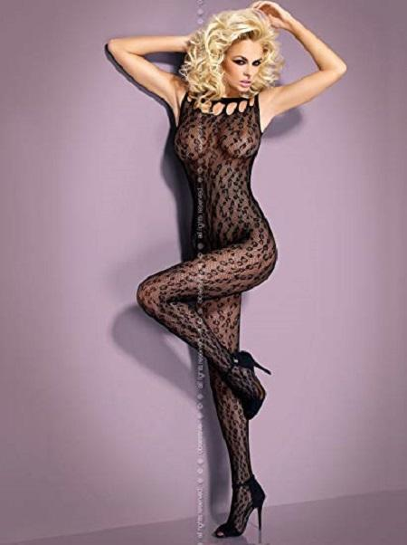 Black bodystocking G306
