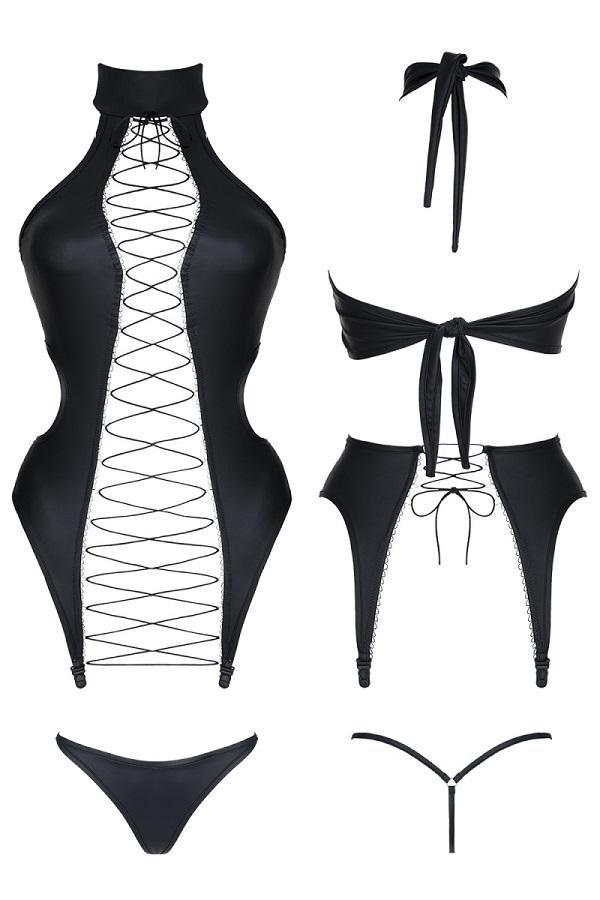 Corset with thong Hekate