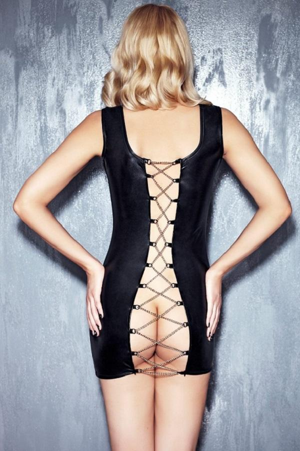 Erotic Backless Dress Kasadya