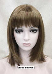 Light Brown Mix wig 345