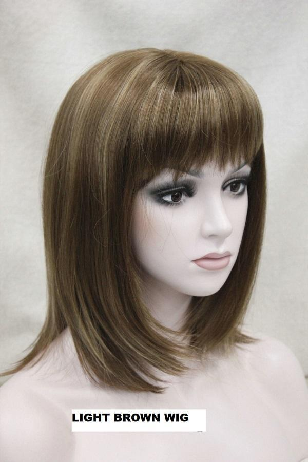 Light Brown Mix wig 12TT124R