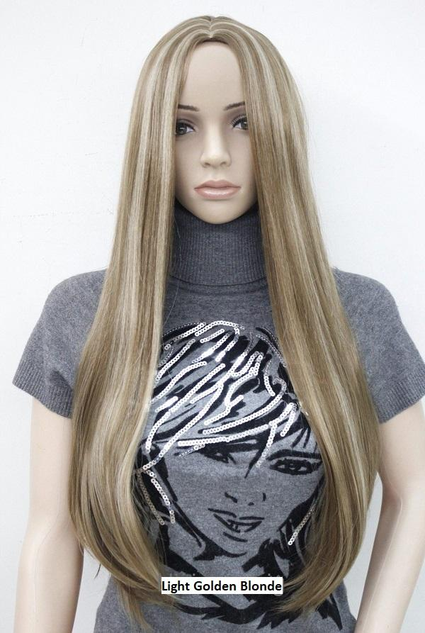Light Golden Blonde Wig 9703