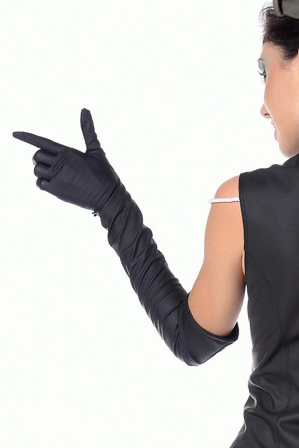 Long gloves in neoprene