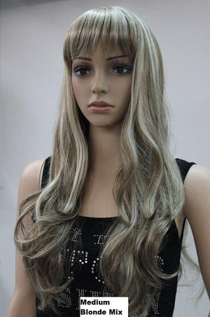 Golden Blonde Long Wig