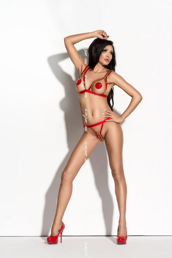 Red Lingerie Set Monroe