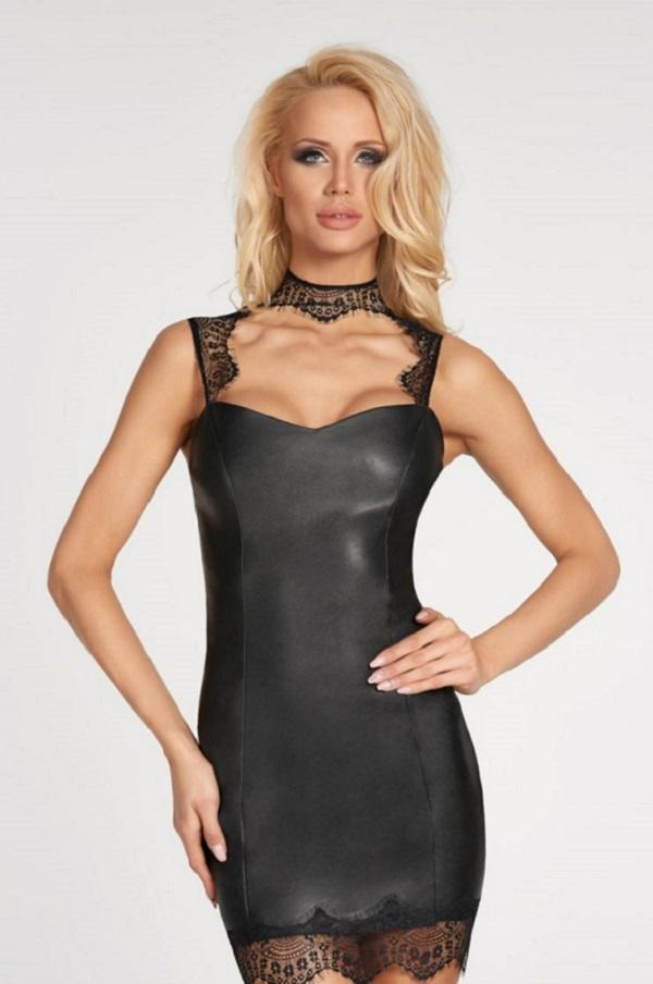 PU Leather Dress Nazca