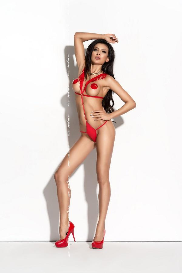 Red Lingerie Body Sandra