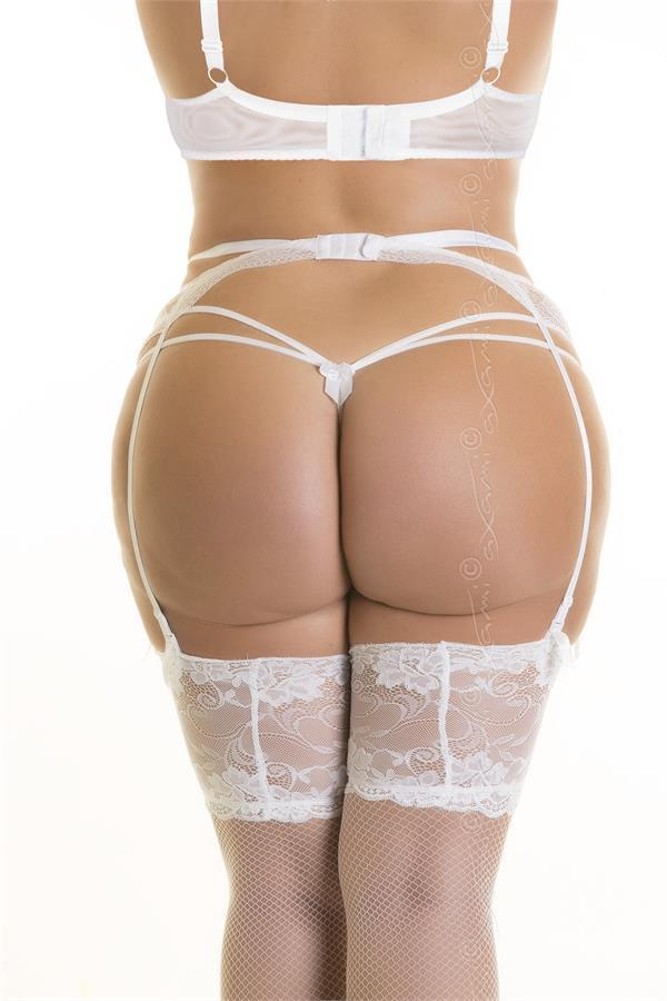 Garter belt V-8682 Plus Size