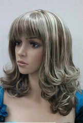 Brown Mix Short Wig