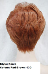 Short Striaght Red Ronic Wig