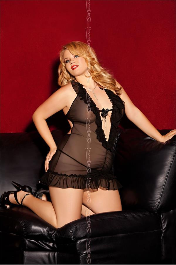 V-4559 Corretto plus size nightdress