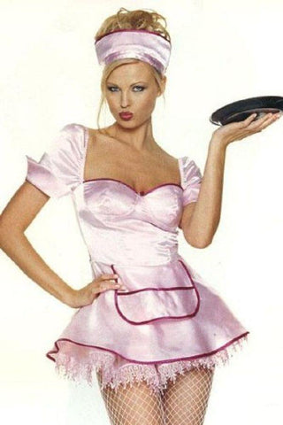 50's Diner Waitress Girl Costume for <span class=money>€19.95 EUR</span> at Flirtywomen