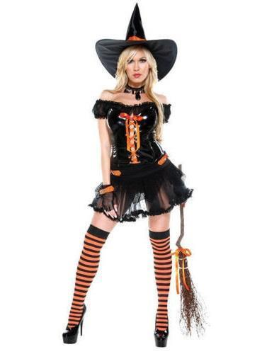 Wickedly sexy witch costume 557121