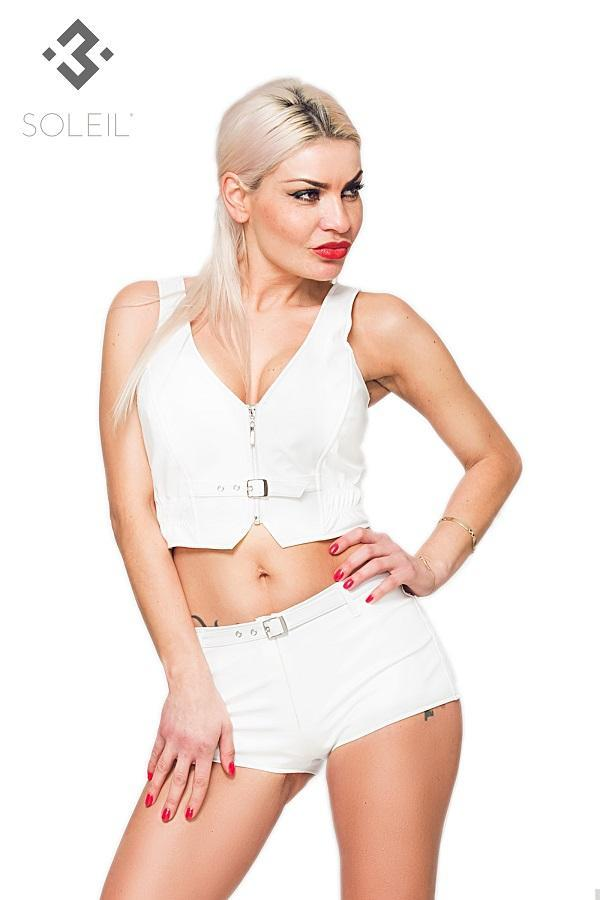 Eco white top TXF013017